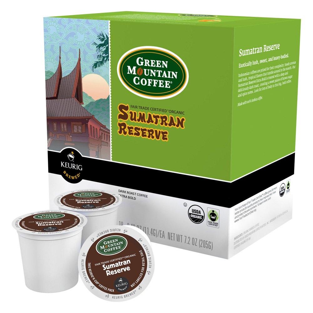 Keurig Coffee Maker Green : Keurig 00060BULK - Green Mountain Sumatran K-Cup (Pack of 72)