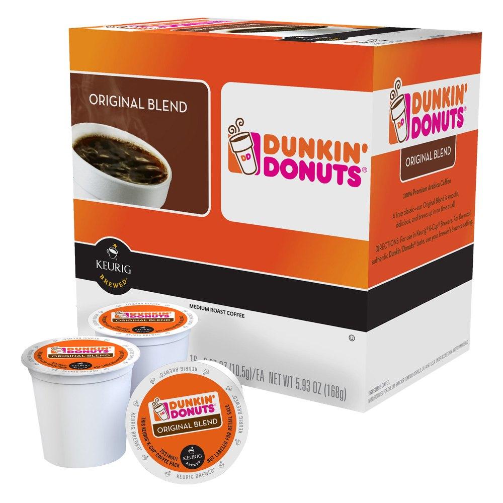 Keurig 118791 - Dunkin Donuts Original Blend Coffee 16 Count K-Cups