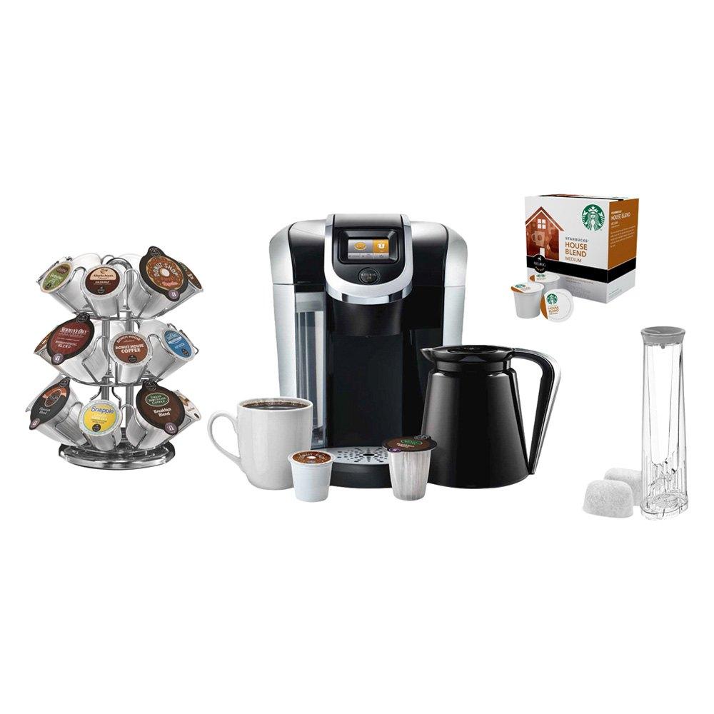 Starbucks Special Coffee Maker : Keurig K450STARTER2 - K450 Brewing System with 2.0 Carousel, Water Filter Refills and Starbucks ...