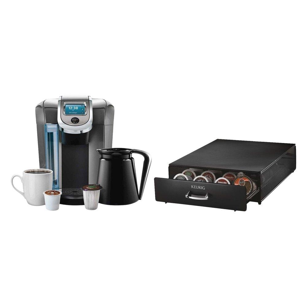 Keurig K550D - K550 Coffee Brewing System & Under Brewer Storage Drawer
