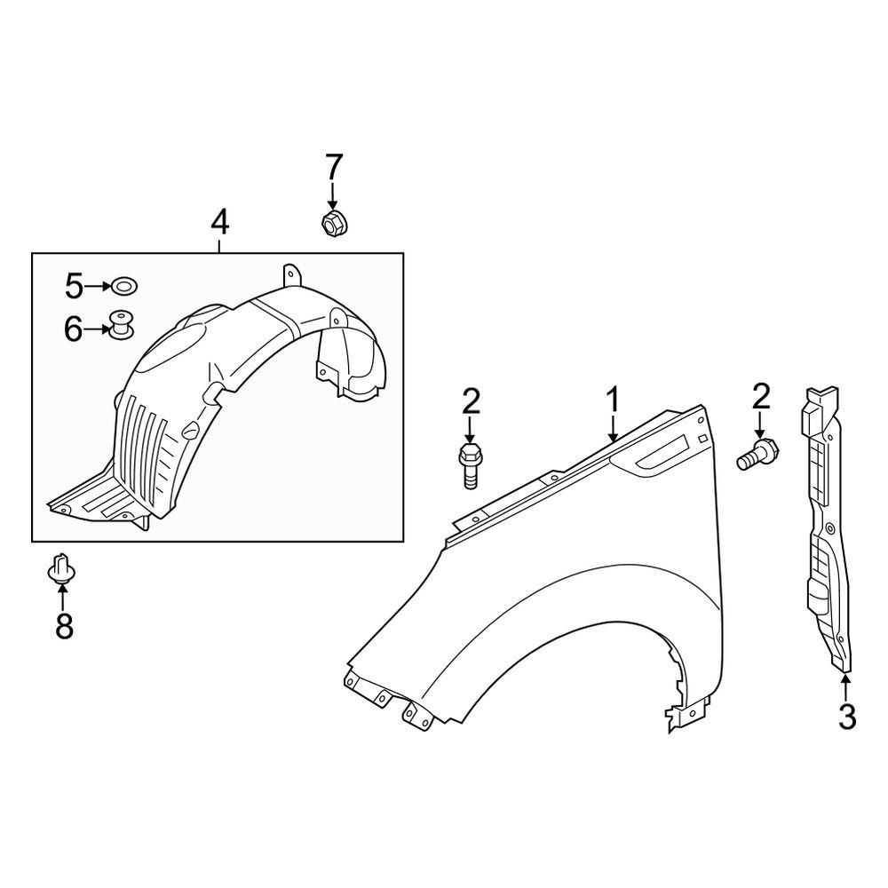 AUTOMUTO Front Rear Pair Strut Assemblies Shock Absorber Fit 2004 2005 2006 2007 2008 2009 2010 2011 2012 2013 Nissan Titan 345042 37252 171358 Struts