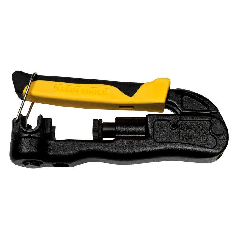 klein tools vdv211 063 compression crimper lateral multi connector. Black Bedroom Furniture Sets. Home Design Ideas