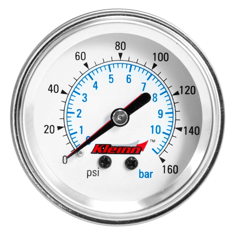 Air Pressure Gauge : Kleinn dash panel mount dual needle illuminated