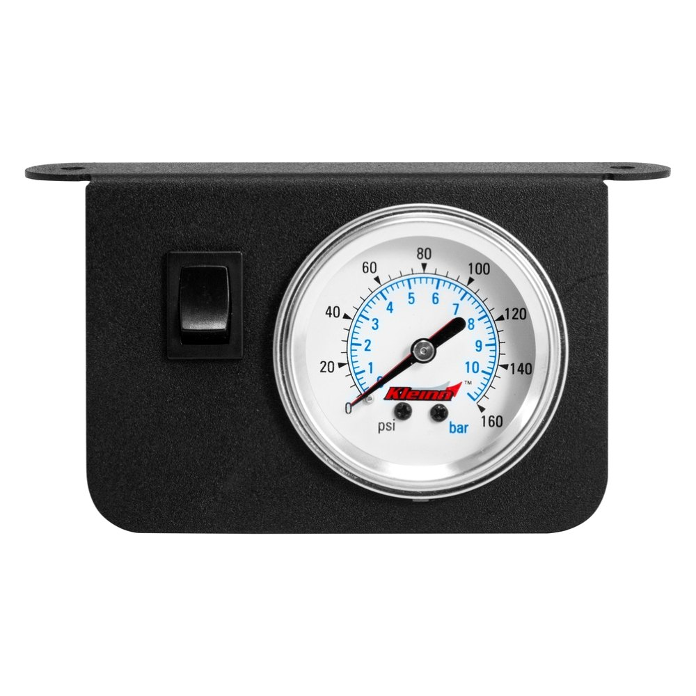 Air Pressure Gauge : Kleinn dash panel dual needle illuminated air