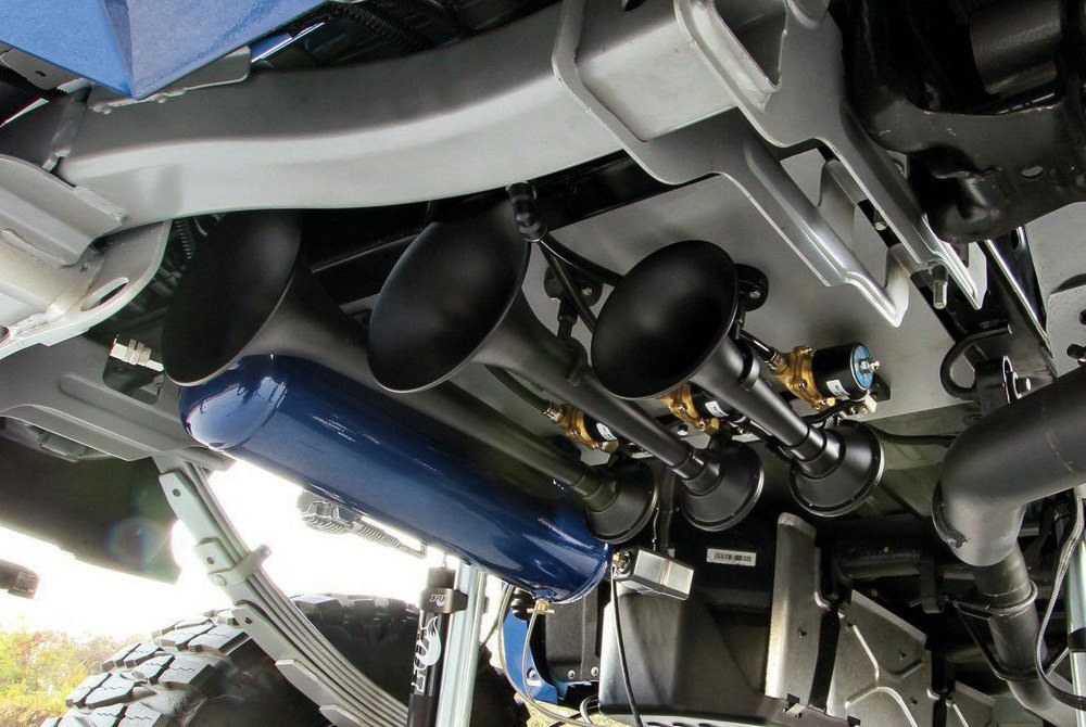 kleinn acirc cent train air horns com kleinnacircreg air horns on 2014 chevy silverado