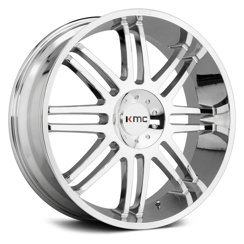 Re Chrome Rims >> Details About Kmc Km714 Regulator Wheels 24x10 30 6x139 7 100 5 Chrome Rims Set Of 4
