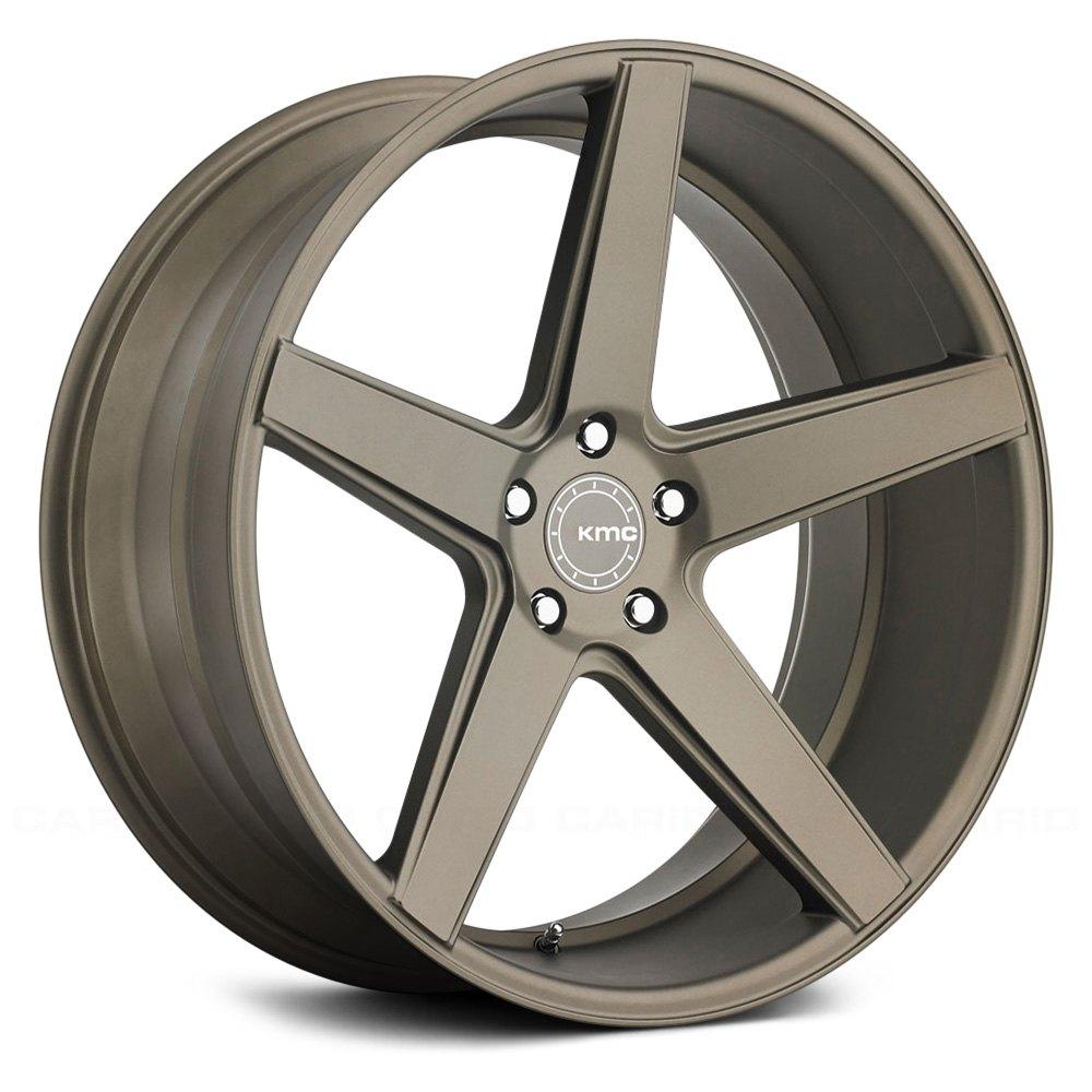 Kmc 174 District Wheels Matte Bronze Rims
