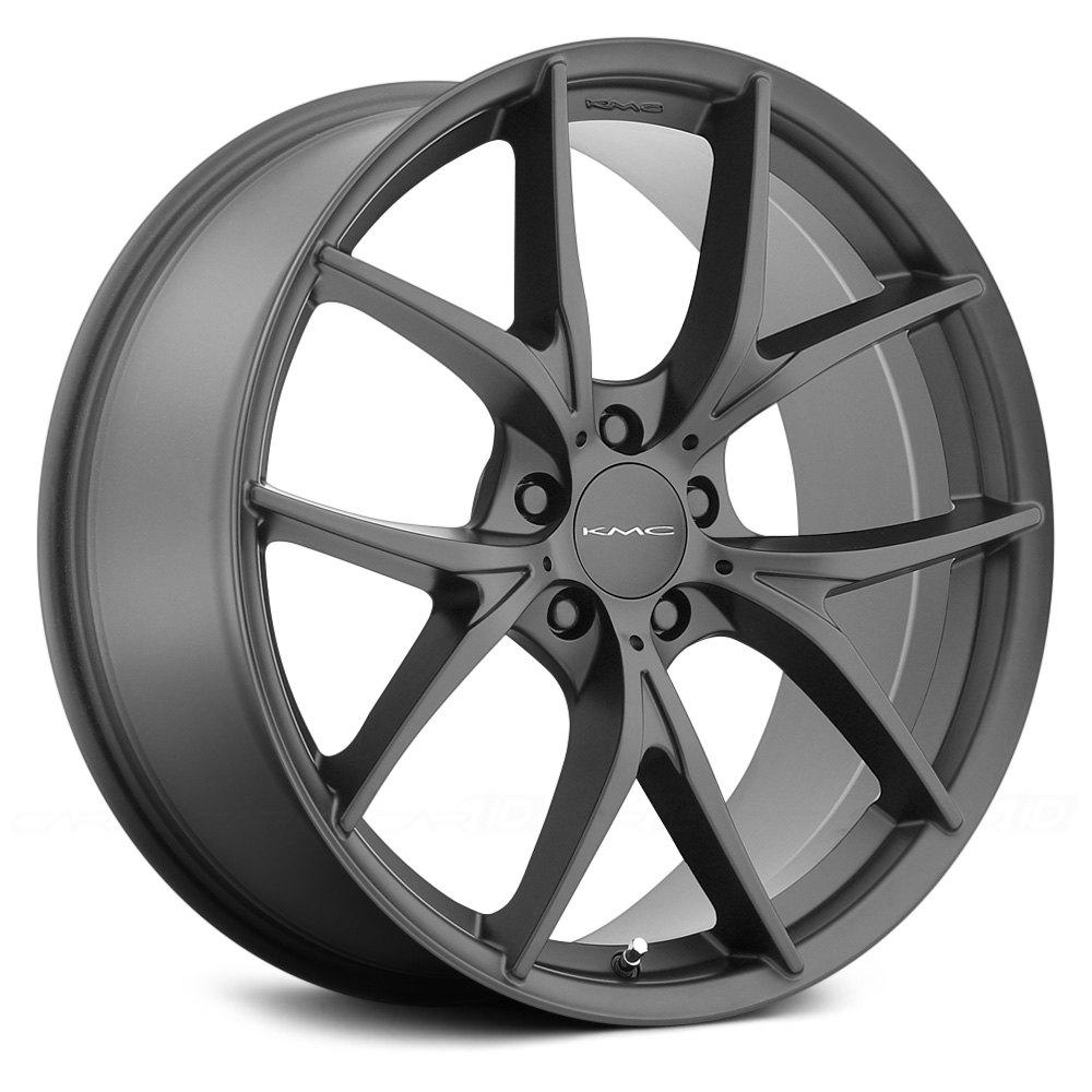 Kmc 174 Km694 Wishbone Wheels Satin Black Rims