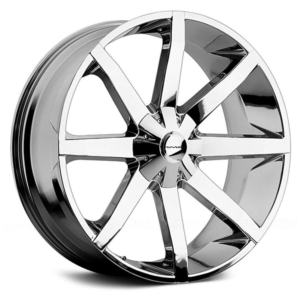 kmc km651 slide wheels chrome rims