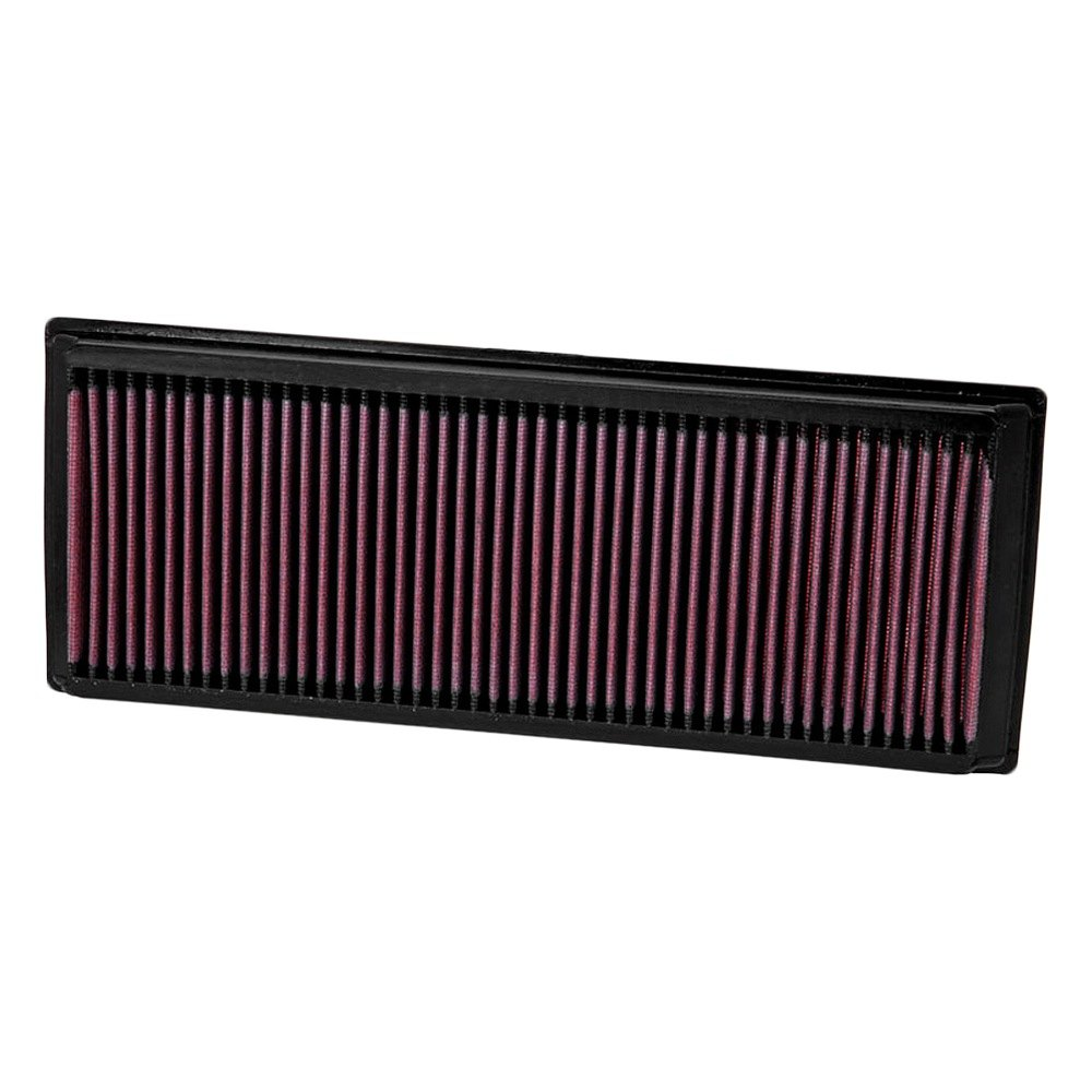 kn volkswagen jetta   series panel red air filter