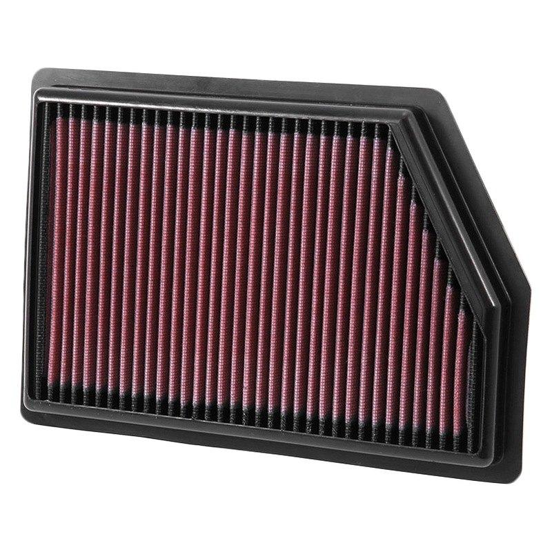 Jeep Air Cleaner : K n jeep cherokee series panel red air filter