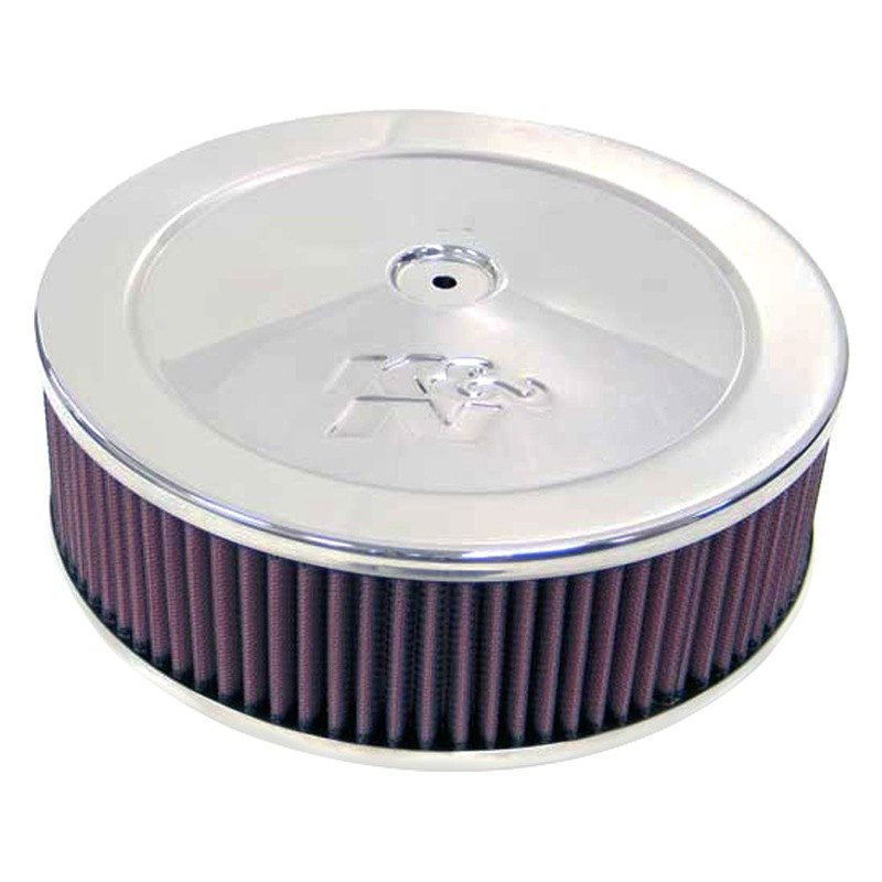 Custom Made Air Cleaners : K n custom round red air cleaner assembly