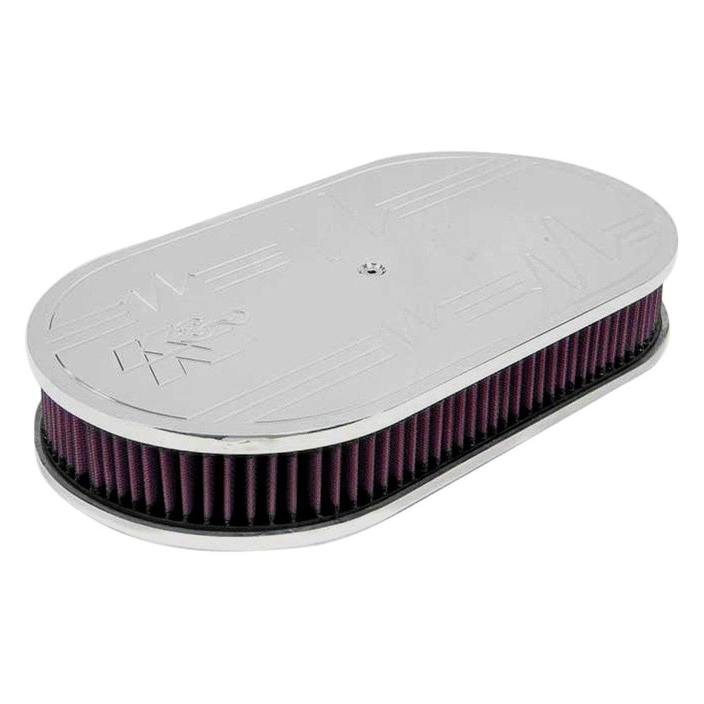 Custom Made Air Cleaners : K n series custom complete oval red air