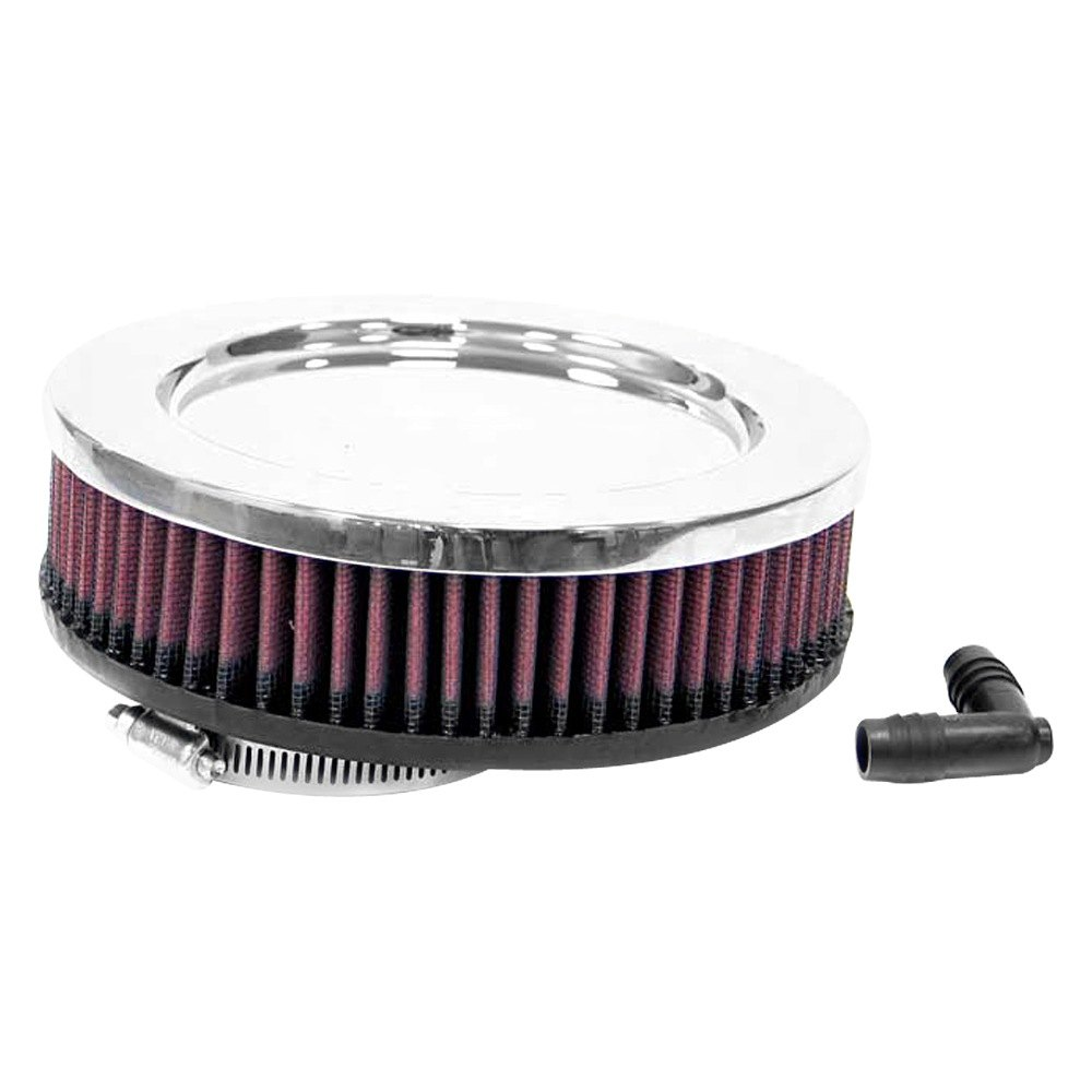 Round Air Compressor Filters : K n ra v round straight red air filter quot f od