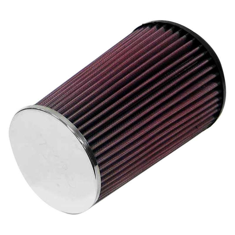 Round Air Filter : K n rc round tapered red air filter quot f