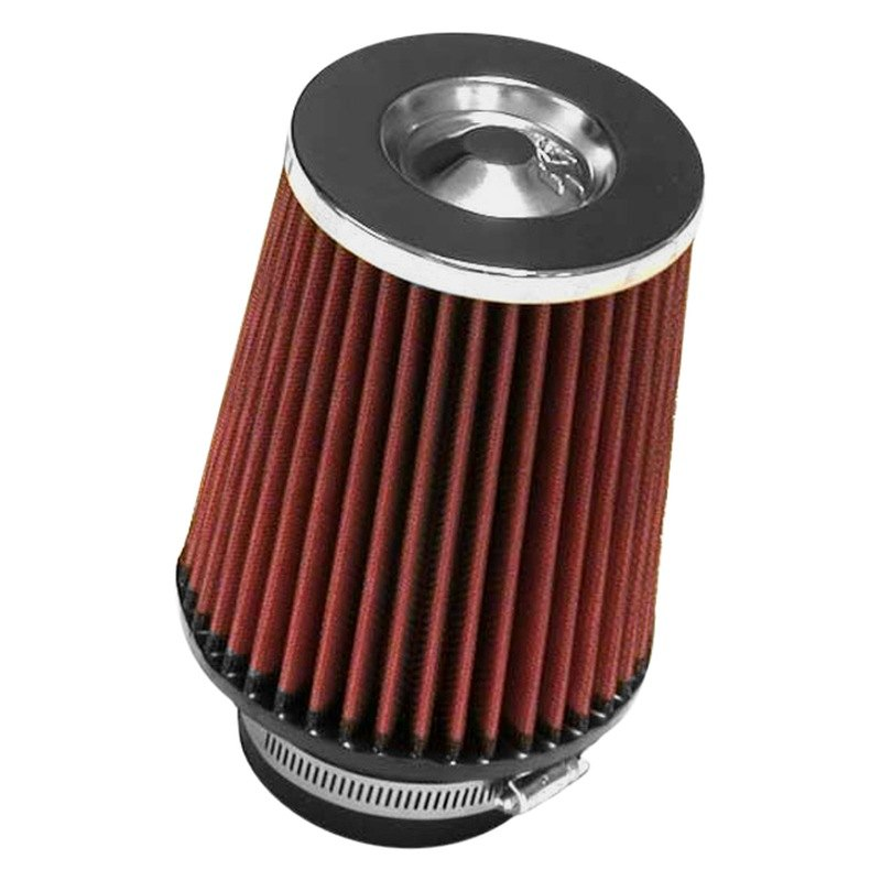 Rc Air Cleaner : K n rc round tapered red air filter quot f b