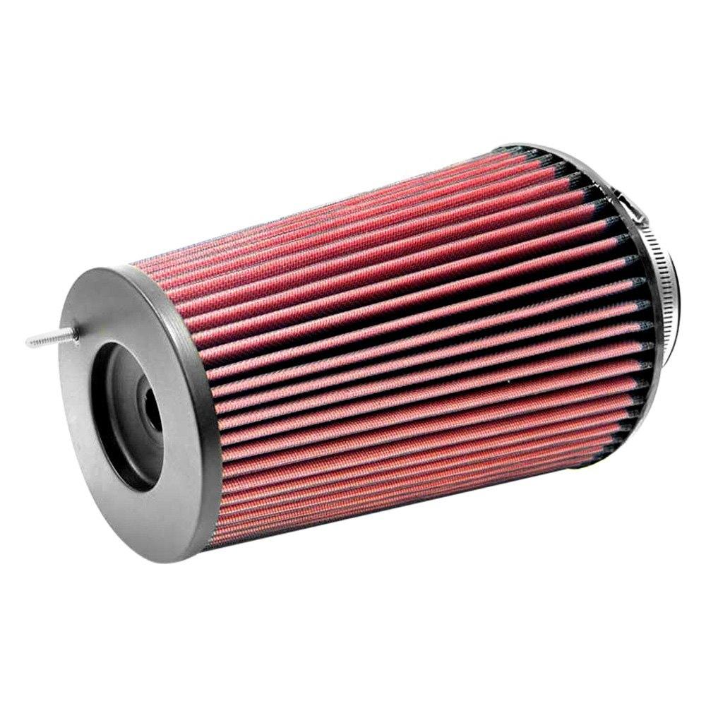 k n rc 4780 round tapered red air filter 4 f x b x t x 9 5 h. Black Bedroom Furniture Sets. Home Design Ideas