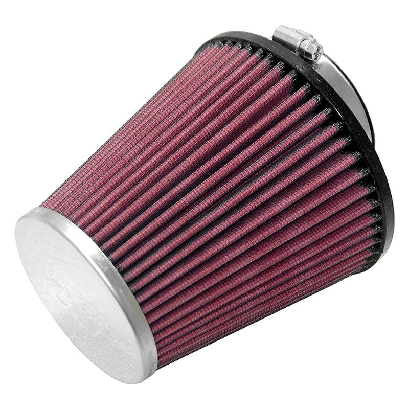 Rc Air Cleaner : K n rc round tapered red air filter quot f