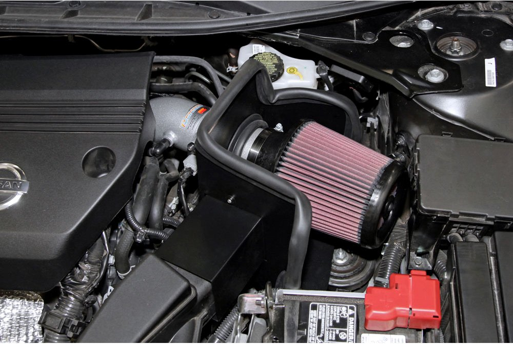 kn nissan altima    series typhoon cold air intake system