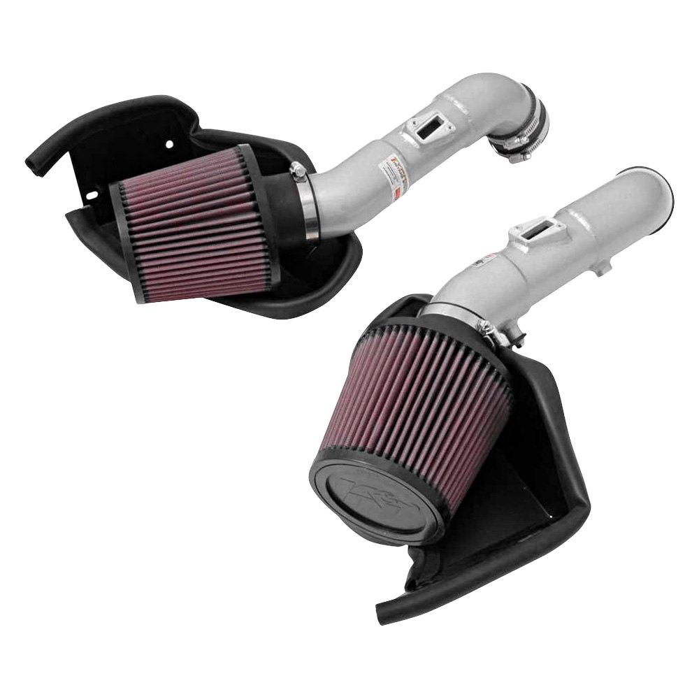 Aluminum Red Cold Air Intake System With: Infiniti Q50 3.7L 2015 69 Series Typhoon® Aluminum