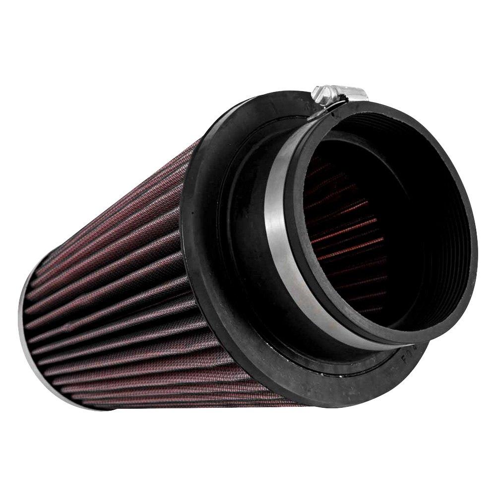 k n rf 1046 round tapered red air filter 4 f x 6 b x 4 t x 8 h. Black Bedroom Furniture Sets. Home Design Ideas