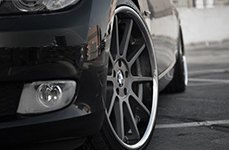 KOKO KUTURE® - LINDOS Black with SS Lip on BMW 328i