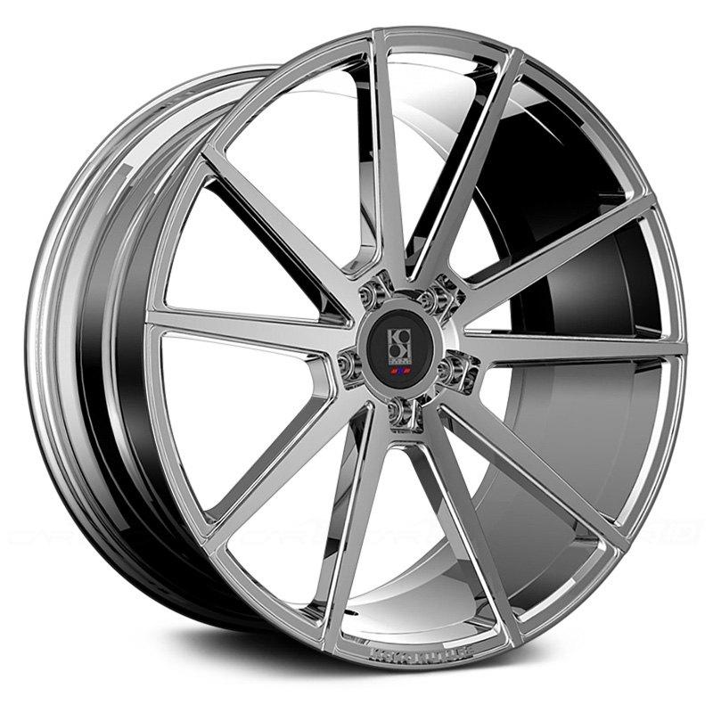 KOKO KUTURE® LE MANS Wheels - Chrome Rims