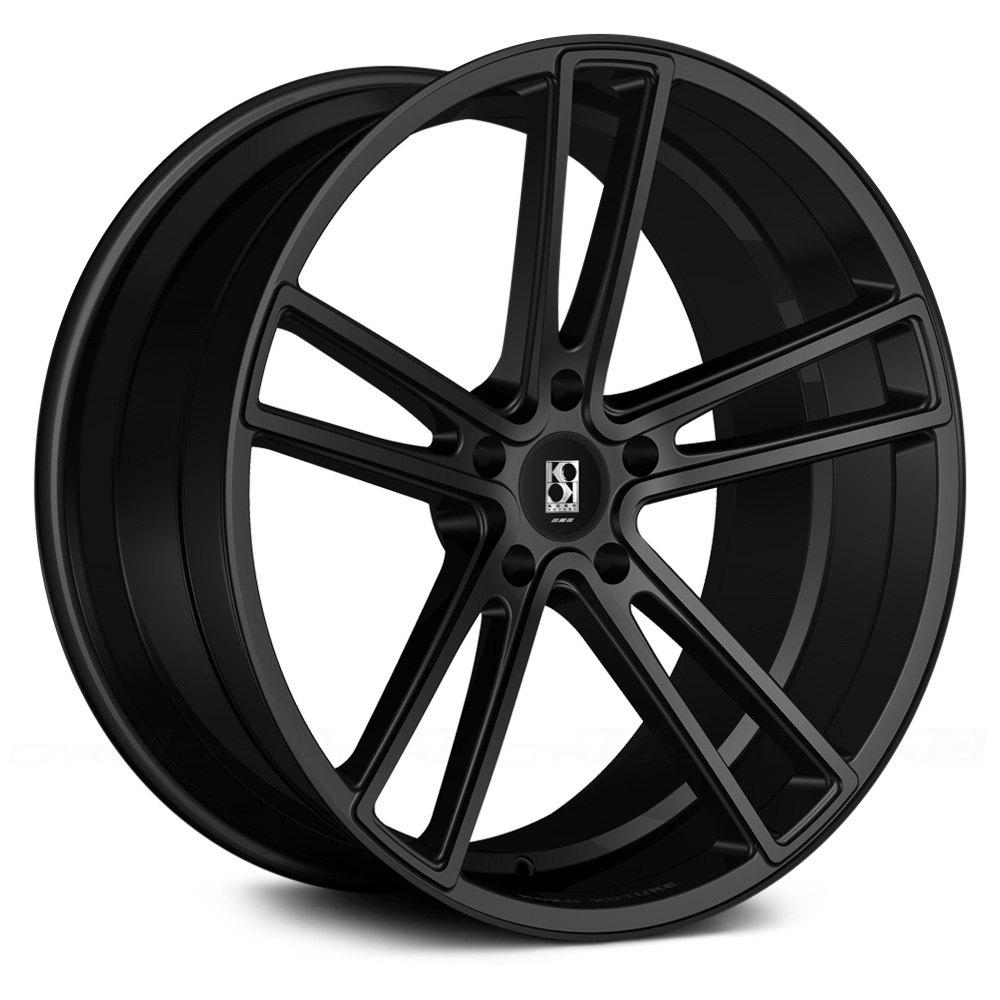 Koko kuture massa 5 wheels black rims