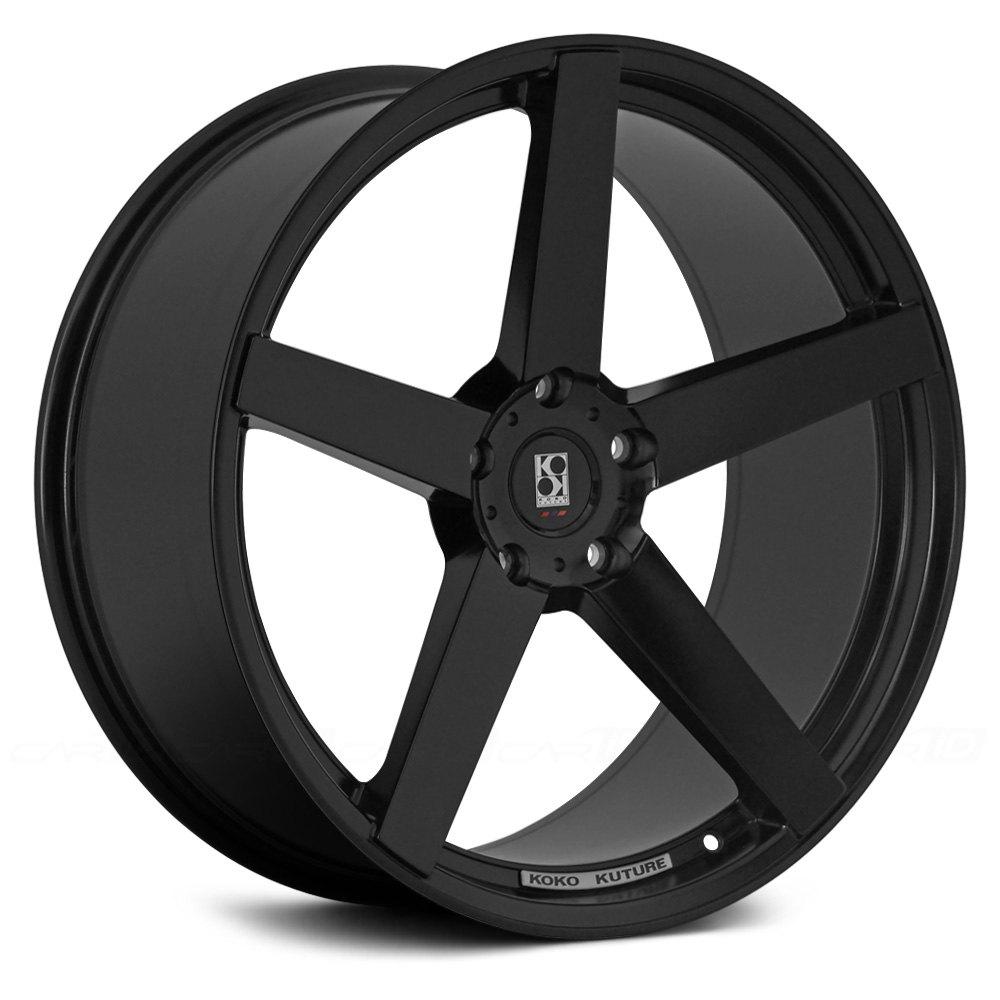 Koko kuture sardinia 5 wheels gloss black rims
