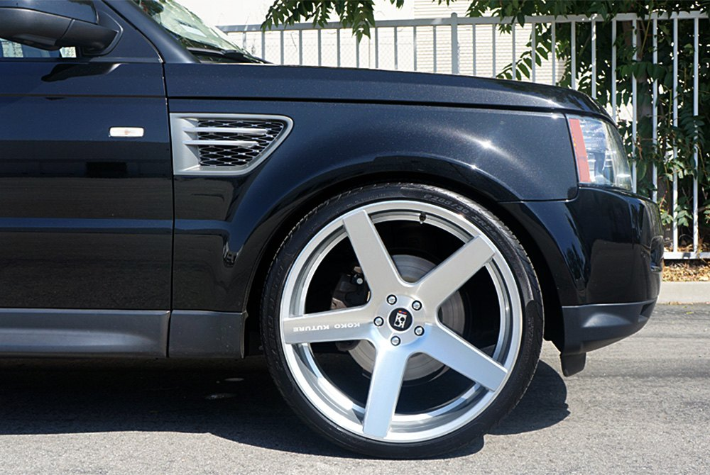 Koko Kuture 174 Sardinia Wheels Silver With Machined Face Rims