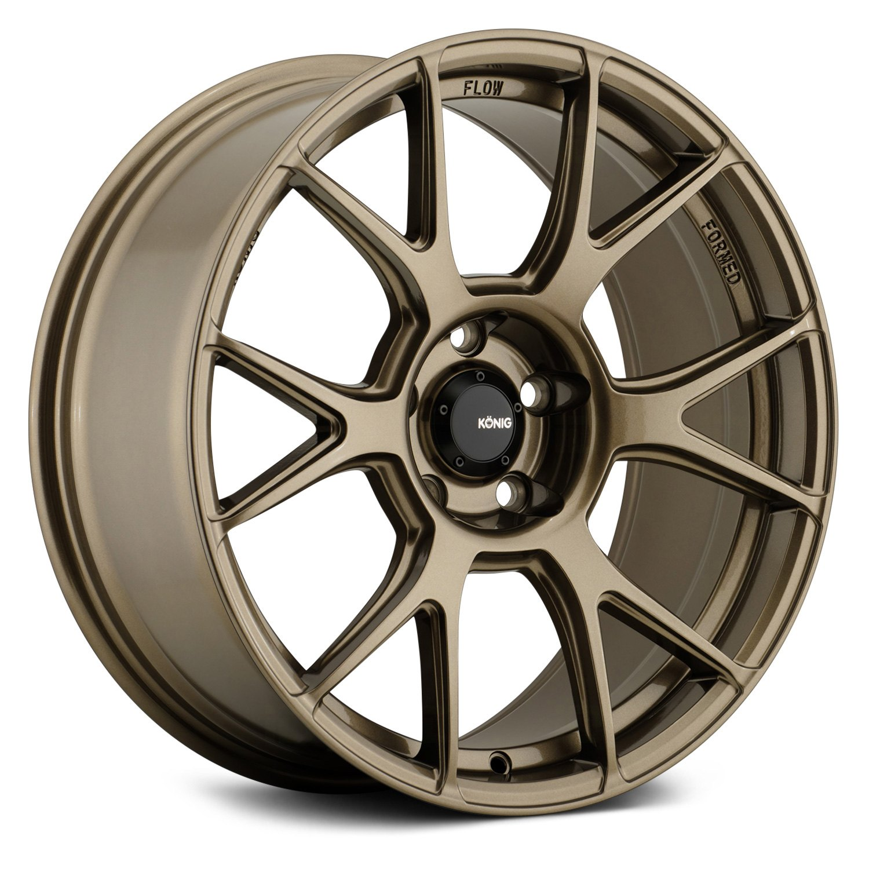 Konig 174 Ampliform Wheels Bronze Rims
