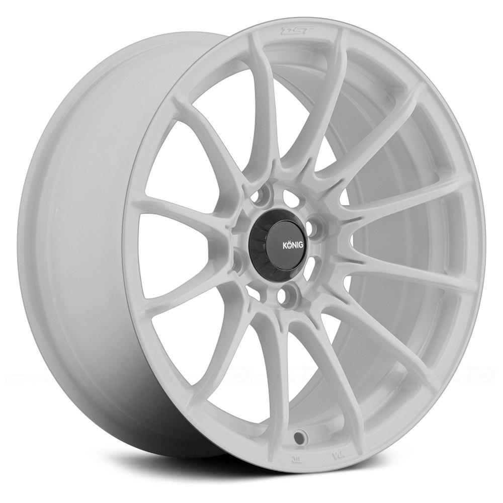 KONIG® DIAL IN Wheels - Gloss White Rims