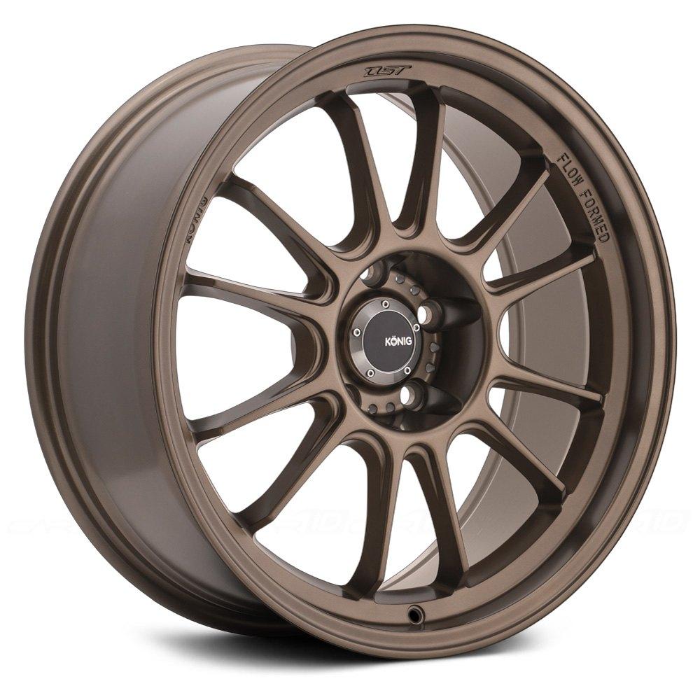 Konig 174 Hypergram Wheels Bronze Rims