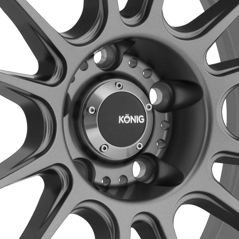 Car Rim Repair >> KONIG® HYPERGRAM Wheels - Matte Grey Rims