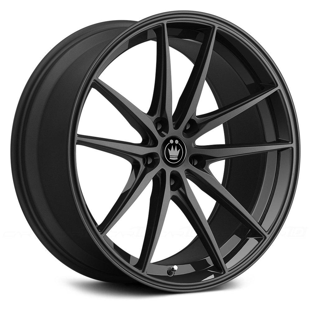 Konig 174 Oversteer Wheels Gloss Black Rims