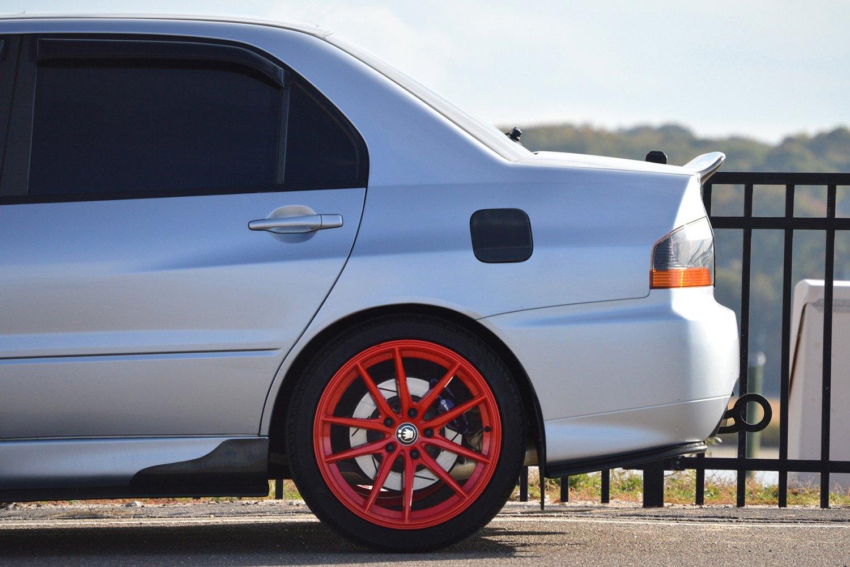 KONIG® OVERSTEER Wheels - Red Rims - OS8951422R-H