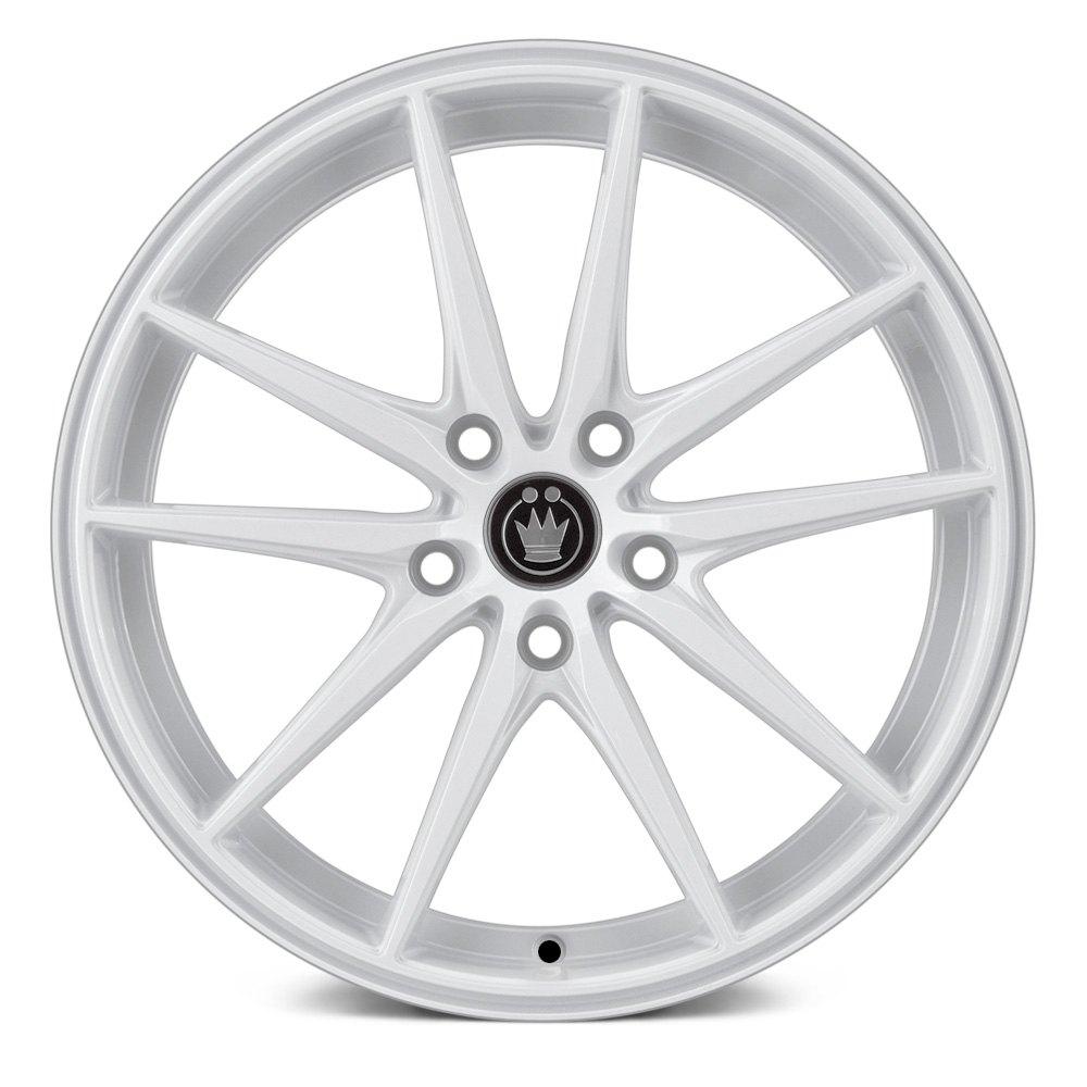 White Wheel Rims : Konig oversteer wheels white rims
