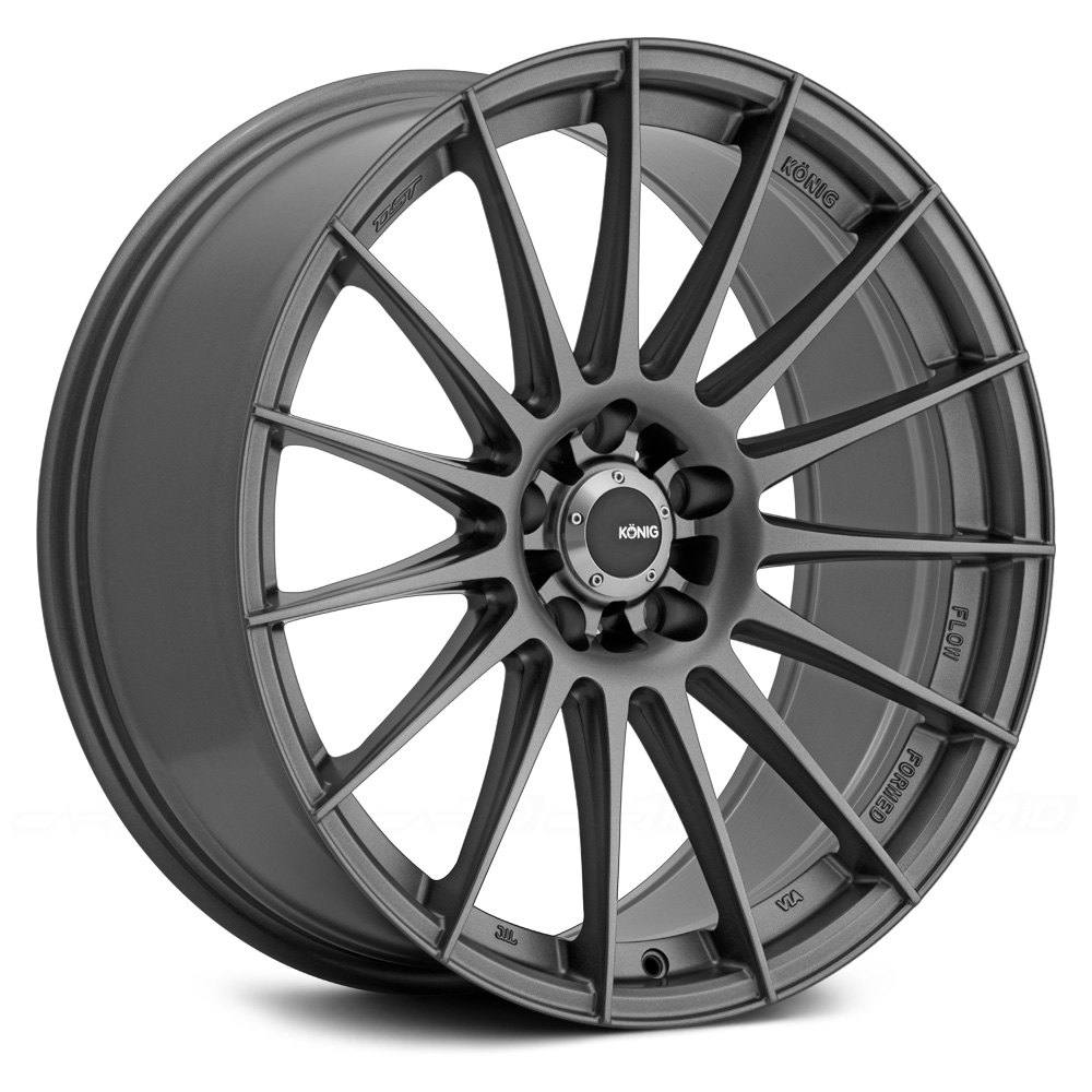 Konig 174 Rennform Wheels Matte Grey Rims