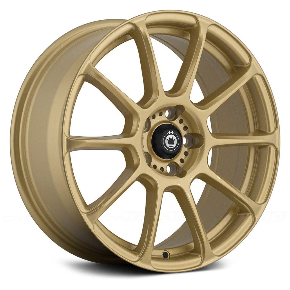 KONIG® RUNLITE Wheels - Gold Rims