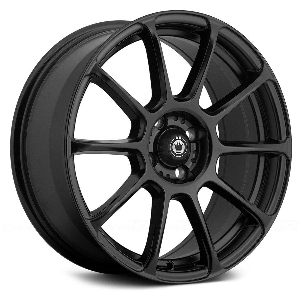 KONIG® RUNLITE Wheels - Matte Black Rims