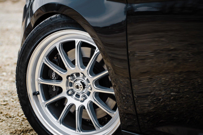 Konig 174 Tweak D Wheels Silver With Machined Face Rims