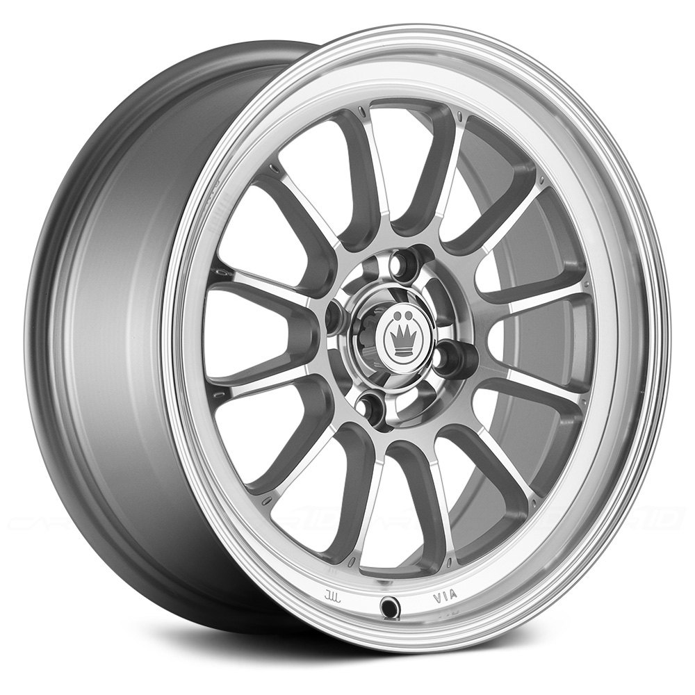 Konig tweakd silver with machined face