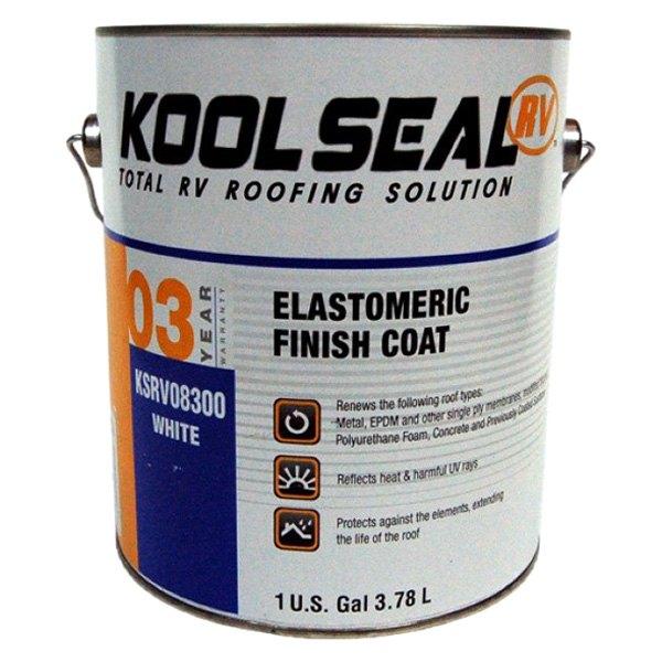 Kool Seal 174 Ksrv08300 16 Rv Rubber Roof Topcoat Gallon