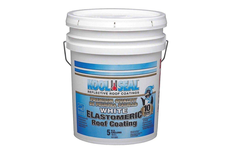Kool Seal®   Kool Seal Elastomric 4.75 Gallon Premium White 10 Year Roof  Coating
