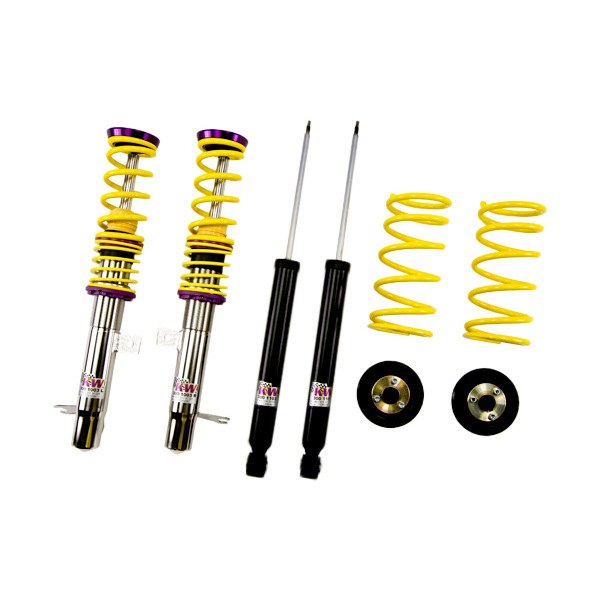 Kw suspensions ford focus 2000 2004 inox line coilover for Suspension inox