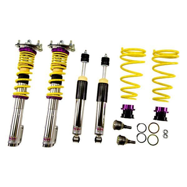 Lowering suspension kits by kw suspensions for bmw 5 for Suspension inox