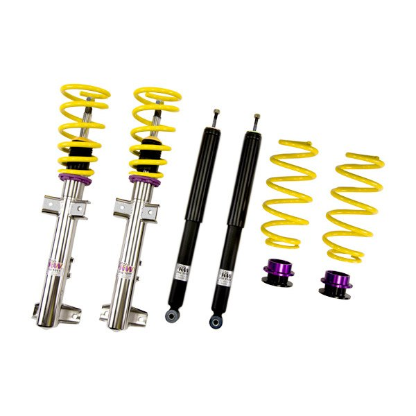 Kw suspensions ford mustang 2007 inox line coilover for Suspension inox