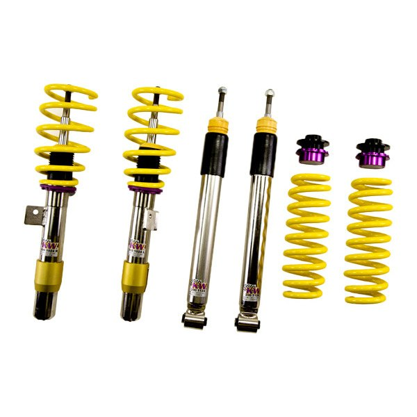Kw suspensions bmw 3 series 2012 inox line coilover for Suspension inox