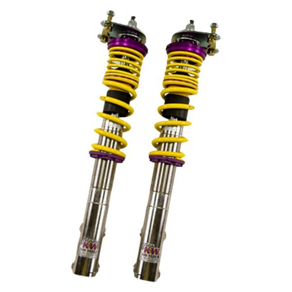 Kw suspensions 35230035 v3 inox line coilover lowering for Suspension inox