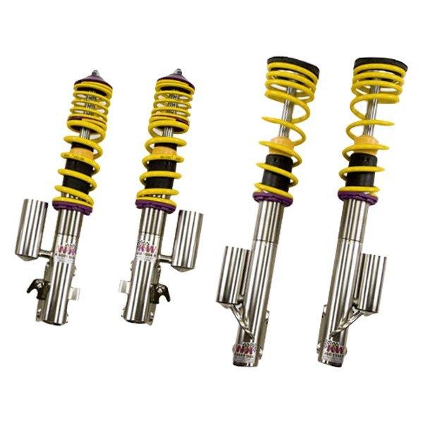 Kw suspensions subaru wrx sedan 2005 v3 inox line front for Suspension inox
